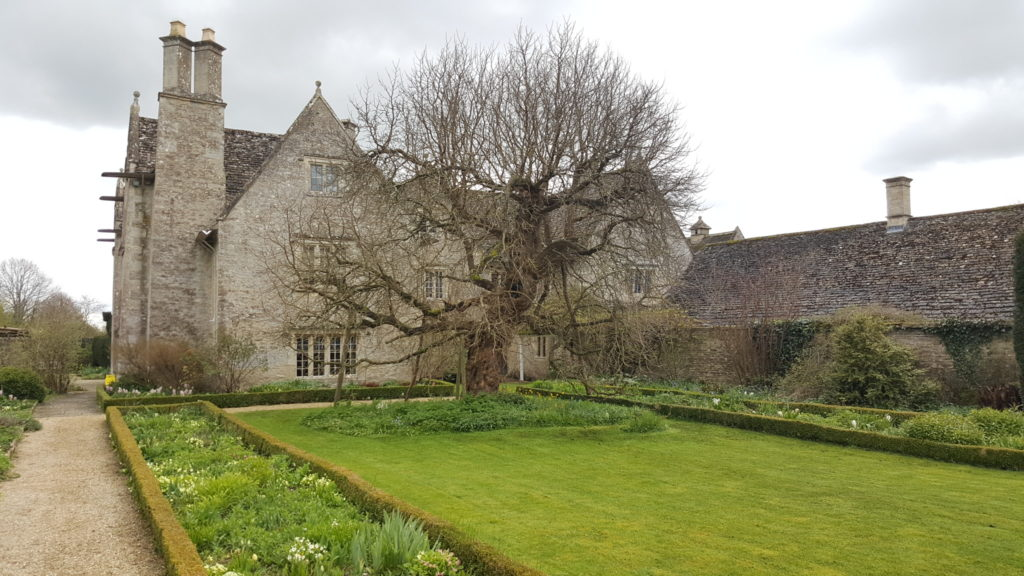 Back garden of Kelmscott Manor