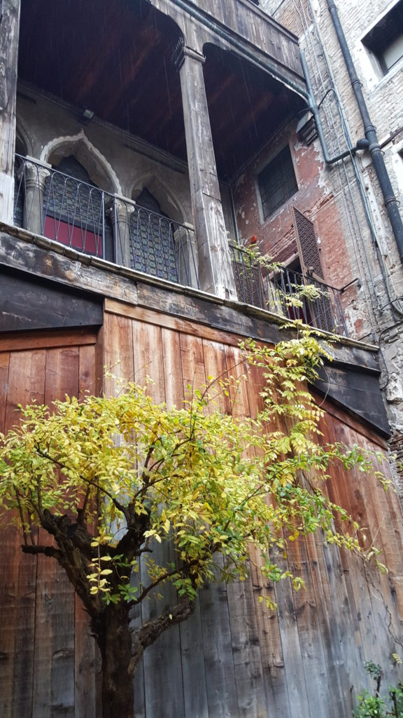 Courtyard at Museo Fortuny