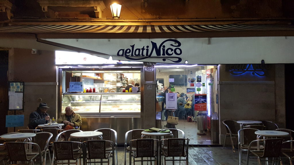 Gelateria Nico on the Zattere